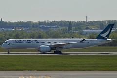 Cathay Pacific B-LRI Airbus A350-941 cn/58 @ EBBR / BRU 05-05-2018 (Nabil Molinari Photography) Tags: cathay pacific blri airbus a350941 cn58 ebbr bru 05052018