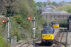 56-096-tnt-56-049-6C20-Sutton-Bridge-Junction-21-4-2109- (D1021) Tags: class56 56096 56049 6c20 semaphores semaphoresignals signal departmental ballast engineers suttonbridge suttonbridgejunction shrewsbury d300 nikond300 colas