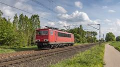 Railpool 155 056-5 storming through Meerbusch (Nicky Boogaard) Tags: krefeld germany deutschebahn deutschland railroadphotography dmrailroad dmrailway railway railfan railfanning meerbusch railpool 1550565