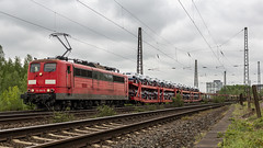 Railpool 151 023-9 storming through Krefeld Hohenbudberg (Nicky Boogaard) Tags: krefeld germany deutschebahn deutschland railroadphotography dmrailroad dmrailway railway railfan railfanning hohenbudberg chempark br151 151023 railpool