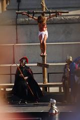 Passion Of Jesus play in Trafalgar Square on Good Friday - 117 (D.Ski) Tags: jesus passionofjesus play trafalgarsquare openair nikon nikond700 200500mm london england wintershall goodfriday easter