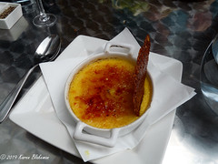London Street Brasserie passion fruit crème brûlée (karenblakeman) Tags: reading uk londonstreetbrasserie restaurant crèmebrûlée passionfruitcrèmebrûlée food 2019 april berkshire