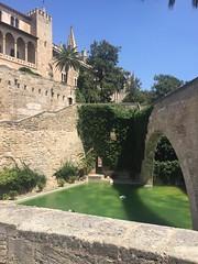 062_Palma (SmoKingTiger1551) Tags: spain mallorca balear isle island palma city palace stonewall pond mediterranean