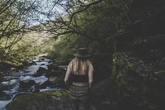 Watersmeet walk (cheaster4050) Tags: hat walking woman'sback walk watersmeet