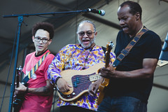 Jazz Fest 2019, Day 2 - Foundation of Funk: Ian Neville, George Porter, Jr., Tony Hall