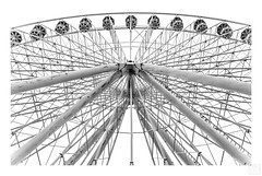 Riesenrad (MAICN) Tags: lines highkey technical blackwhite monochrome geometrisch 2019 schwarzweis technisch mono bw einfarbig sw geometry linien