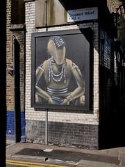 mikael walkman (Claudelondon) Tags: eastlondon london shoreitch streetart