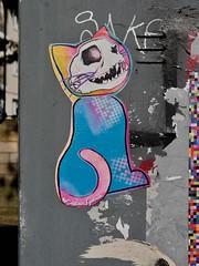 captain eyliner (Claudelondon) Tags: eastlondon london shoreitch streetart