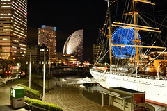 Night view in Yokohama(横浜の夜景) (daigo harada(原田 大吾)) Tags: view landscape light night yokohama