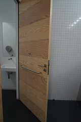 2019-04-FL-208514 (acme london) Tags: bathroom exhibition fondationlafayette museum oma paris ply plywood plywoodcladding remkoolhaas timber timberwalls toilet walls