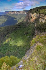 Scenic World Ridge (Smiley Man with a Hat) Tags: bluemountains easter 2019 landscape nsw australia australien bergen mountains oster dielandschaft hdr panoramic