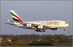 IMG_9800AL_FL13 (Gerry McL) Tags: airbus a380 a380800 a6eda glasgow scotland egpf gla aircraft airliner emirates