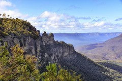 Three Sisters (Smiley Man with a Hat) Tags: bluemountains easter 2019 landscape nsw australia australien bergen mountains oster dielandschaft hdr panoramic threesisters dreischwestern