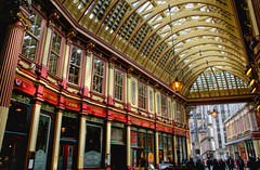 Leadenhall Market (mikebartucca) Tags: london architecture leadenhall market store