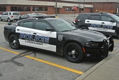 Lyndhurst Police Department (Emergency_Spotter) Tags: lyndhurst police department lpd dodge charger black white sedan 57 steelies alprs ohio oh pd officer law crime