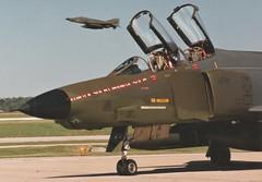 Nebraska ANG (Dulacca.trains) Tags: rf4c phantom 173rdtrs 155trg nebraskaang airnationalguard usaf airforce recon