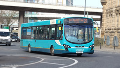 Arriva Merseyside 3162 MX14 HRR (WY Bus Spotter) Tags: arriva merseyside 3162 mx14hrr liverpool west yorkshire bus spotter wybs green lane depot interurban livery 27 sheil road circular wright wrightbus pulsar vdl queenway tunnel flyover transport