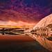 Sunset on Lake Tenaya