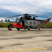 Removing the Fire Cart With Beacons On From the Retro RCAF Sea King