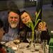 CE19 - guest dinner // Vitaly Mansky (dir. PUTIN´S WITNESSES), Gabriela Bussmann (prod. PUTIN´S WITNESSES) photo © Christoph Thorwartl / subtext.at