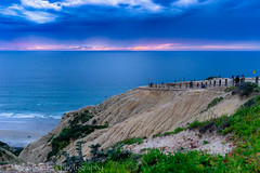 Blacks cliff and sunset (borders92109) Tags: blacks beach san diego california socal ocean clouds storm sky water sea waves cliff sony a7ii tamron 2875 f28