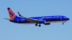 N828SY Boeing 737-800 Sun Country (SamCom) Tags: dfw kdfw n828sy boeing 737800 suncountry