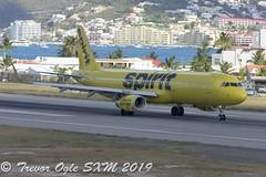 DSC_8743Pwm (T.O. Images) Tags: n673nk spirit airlines airbus a321 sxm st maarten princess juliana airport