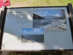 String Lake Trail (pr0digie) Tags: grandteton nationalpark hike hiking trail stringlake leighlake lake mountain mountains information sign