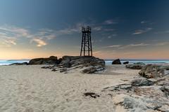 Shark Tower Sunrise Seascape (Merrillie) Tags: redheadbeach sunrise newcastle dawn newsouthwales sea nsw beach ocean lakemacquarie sharktower coastal redhead outdoors seascape landscape coast australia seaside