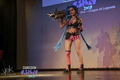 ComicdomCon Athens 2019 Cosplay Contest: Jinx from League of Legends (SpirosK photography) Tags: comicdomcon comicdomcon2019 comicdomconathens2019 cosplay contest comicdom athens greece hau cosplaycontest leagueoflegends lol jinx game videogame videogamecharacter