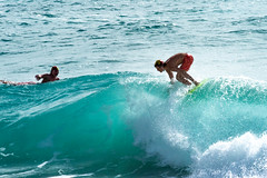 The Colour of Water (armct) Tags: surf surfer surfboard surfbeach shorebreak currumbin surfclub vikings wave colour swell training cadet