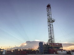 Norton Rig 2 (GlobalGoebel) Tags: tatum newmexico unitedstates oil rig oilandgas drilling permian basin sunset iphone iphone6 iphoneography norton norton2 rig2 apache apacheenergy
