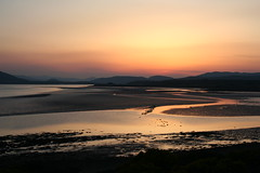 Sunset on the Dornoch firth (stuartcroy) Tags: scotland dornoch firth reflection ripples sunset beautiful sea scenery sky still