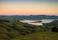 Sunset over Banks peninsula - New Zealand (Valentin.LFW) Tags: newzealand nouvellezeland south hemisphere photographer photography canon aotearoa birds wildlife landscape auckland