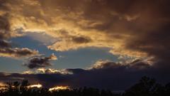 """evening sunset gold (Paul"""") Tags: cloud sunset lumberton lumbertonnc northcarolina pfh 16x9"""