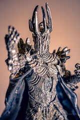 Sauron (francoislinde) Tags: evil theenemy lordofmordor lordoftherings sauron darklord tiny macrolens depthoffield small badguy armour metal figurine middleearth ringofpower detail macrophotography lotr figure onering toy 2019 villian april