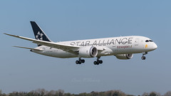 ET-ATG Ethiopian Airlines Boeing 787-8 Dreamliner Star Alliance livery landing at EIDW 22-4-19 (1 of 1)-3 (Conor O'Flaherty) Tags: etatg staralliance alliance ethiopian ethiopianairlines eidw dublin airport dublinairport ireland aviation jet plane boeing 787 dreamliner 7878 788 speciallivery landing sky