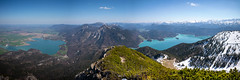 Bergblick (Chris Buhr) Tags: panorama herzogstand landschaft landscape bayern bavaria nature outdoor see lake kochelsee walchensee alpen mountains berge alps leica m10