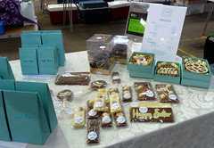 Challenge Friday, week 16, theme chocolate (1) - chocolate at Reading Farmers' Market (karenblakeman) Tags: caversham uk challengefriday cf19 chocolate readingfarmersmarket trudiannchocolates april 2019 reading berkshire