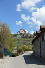 Menthon-Saint-Bermard @ Hike to Château de Menthon-Saint-Bernard, Rochers des Moillats & Ermitage de Saint-Germain (*_*) Tags: april afternoon spring printemps 2019 sunny europe france hautesavoie 74 annecy savoie hiking walk marche randonnee nature mountain montagne menthonsaintbernard