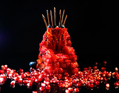 Game of Thrones - Strawberry Edition (Theo Crazzolara) Tags: game thrones gameofthrones got ironthrone strawberry food foodporn pomegranate serie finale sweet delicious fan epic background health healthy diet death fanart fruits