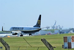 DSC03955 (richellis1978) Tags: ema east midlands airport airliner aeropark airplane aeroplane boeing 737 ryanair 800 737800 eieky