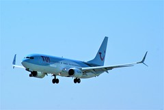 DSC03940 (richellis1978) Tags: ema east midlands airport airliner aeropark airplane aeroplane boeing 737 tui gfdzz 7378k5 airways