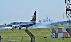 DSC03932 (richellis1978) Tags: ema east midlands airport airliner aeropark airplane aeroplane boeing 737 ryanair 800 737800 eifrb