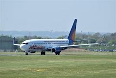 DSC03915 (richellis1978) Tags: ema east midlands airport airliner aeropark airplane aeroplane boeing 737 jet2 jet 2 gjzhf 737800 8k2