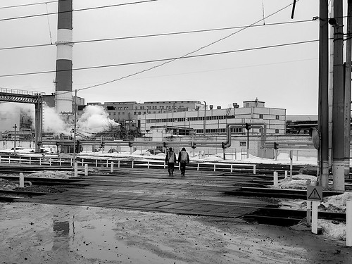 two in an industrial zone ©  Sergei F