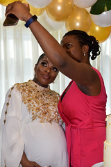 DSC_6882 Tricia Baby Shower The Hilton Hotel Docklands London Selfie Photo (photographer695) Tags: tricia baby shower the hilton hotel docklands london pregnant lady girl beautiful delightful stunning selfie photo