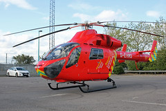 London's Air Ambulance in Cricklewood (kertappa) Tags: img6894 air ambulance londons london hems doctor paramedics hospital gehms emergency helicopter kertappa broadway retail park cricklewood