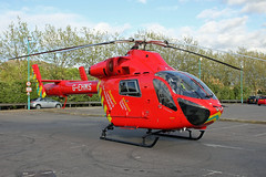 London's Air Ambulance in Cricklewood (kertappa) Tags: img6811 air ambulance londons london hems doctor paramedics hospital gehms emergency helicopter kertappa broadway retail park cricklewood