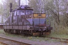 CD 110027-0 (bobbyblack51) Tags: cd class 110 skoda type 33e bobo electric locomotive 1100270 ceska trebova yard 2006